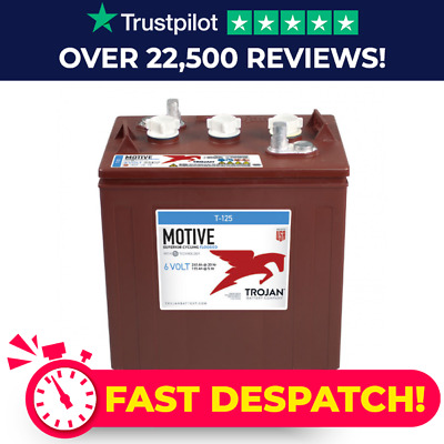 8 x 6 Volt 240Ah Trojan T125 Deep Cycle G-Wizz Battery