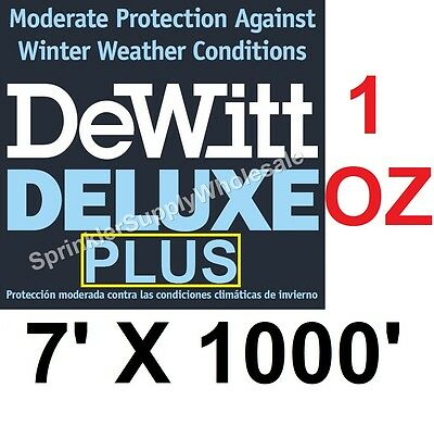 DeWitt Deluxe PLUS 7'x1000' 1oz Frost Protection Freeze Cloth DeluxePlus7-1