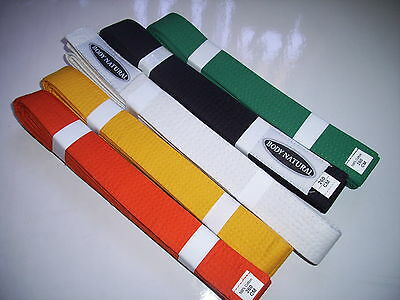 10 x MARTAIL ARTS BELTS-Most Colours Available
