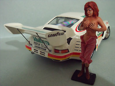 Figurine  1/24  Girl  Jane  Vroom  Unpainted  Figure  For  Tamiya  Lm Miniatures