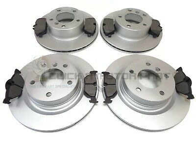 BMW E81 118d 3DOOR 2007-2011 FRONT AND REAR BRAKE DISCS & PADS SET NEW