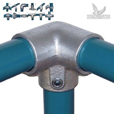 Pipe Clamp Handrail System - 48MM Fittings / Connectors - Kee Key Klamp Tube Q 4