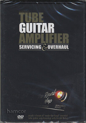 Tube Guitar Amplifier Servicing & Overhaul Gerald Weber DVD