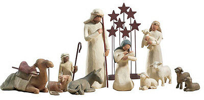 Demdaco Willow Tree 11 pc nativity set             NEW++