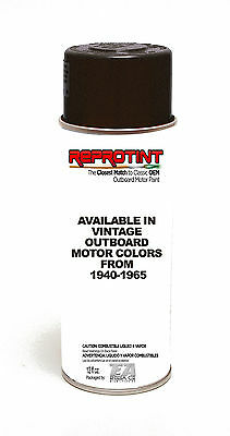Vintage/Classic Outboard Motor Paint - Spray Can JOHNSON OEM Matching Colors