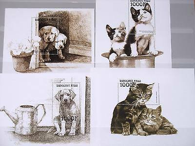 Topical Stamps Hearty Benin Block52 Mint Never Hinged Mnh 1999 Big Cats