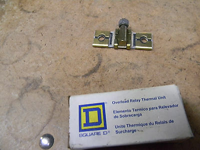 Square D Overload Relay Thermal Unit B 3.70 -0214