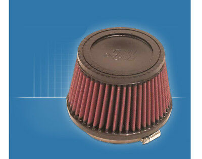"""K&N Air Filter RU-2510 Round Tapered Clamp On - Diam. 4""""(100mm) / H. 3.5""""(90mm)"""