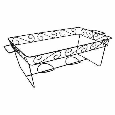 Decorative Wire Chafing Rack Black 12 Pk - Brand New Item