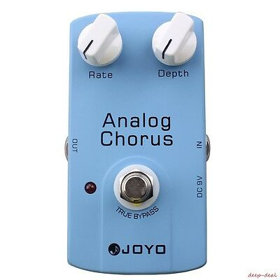Joyo JF-37 Analog Chorus guitar pedal with fabulous unique chorus tone