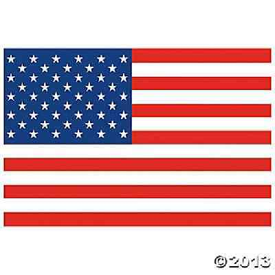 """American Flag Backdrop  72"""" x 108 / PATRIOTIC / 4TH OF JULY (35/1048)"""