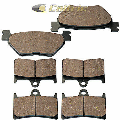 Front & Rear Brake Pads Fits Yamaha Xv1700 Road Star 1700 Warrior 2002-2009