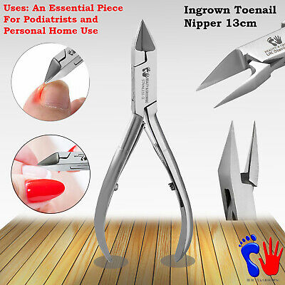 Ingrowing Finger and Toe Nail Clippers Nippers Chiropody Podiatry Instruments SS