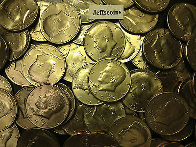 1971 - 1979 P D Kennedy Half Dollar Coin From 70's Old Original US Mint 50¢ Lot
