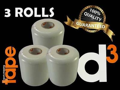 d3 PROFESSIONAL FOAM UNDER WRAP FOR SKIN PROTECTION GOOD QUALITY - 3 ROLLS