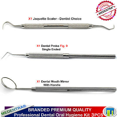 Dental Tartar Scraper and Remover Kit, Calculus Remover,Tarter Removing Tools CE
