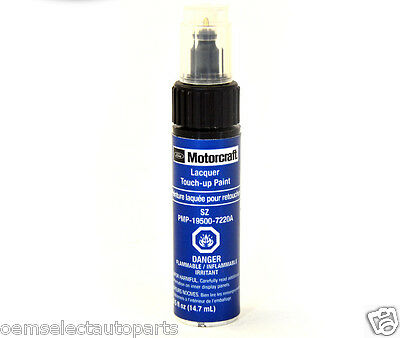 OEM NEW Genuine Ford BLUE FLAME Touch-Up Paint, Clearcoat SZ Color Code 7220A