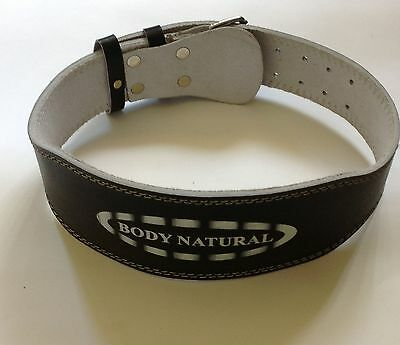 WEIGHT LIFTING BELT- Genuine  LEATHER
