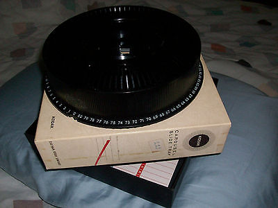 Carousel Tray For Kodak Slide Projector. Hold 80 Slides