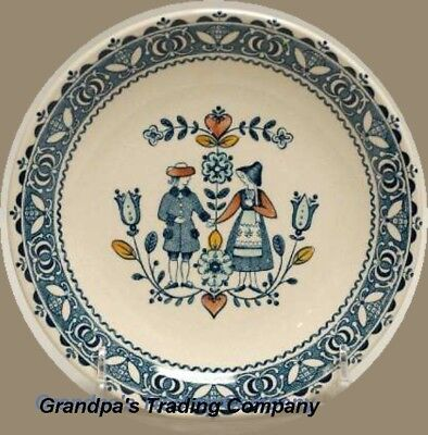"""Johnson Bros Brothers Hearts & Flowers 6"""" Bread & Butter Cake Plate Old Granite"""