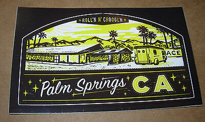 THIRD MAN RECORDS Sticker PALM SPRINGS ROLLING STOR decal New Stripes Jack White