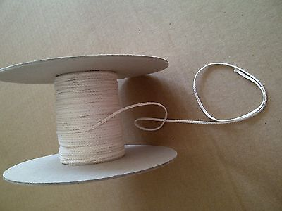100 Yards Flat Braid 30 Ply Candle Wick