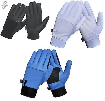 Wind & Water Resistant Breathable Horse Riding Gloves - Thinsulute