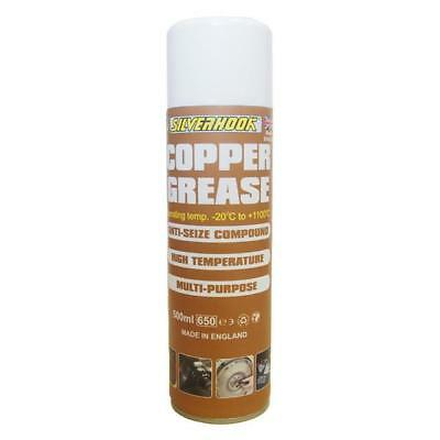 Silverhook High Temperature Anti-Sieze Copper Grease Spray Can 400g
