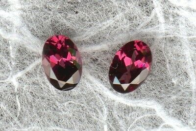 TOP! Pink-Rote Rhodolithe oval cut       (C32)