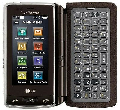 Verizon LG VX9600 brown Mock Dummy Display Toy Cell Phone
