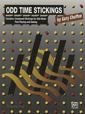 Odd Time Stickings by Gary Chaffee Drum Music Book Odd-Meter Time Playing