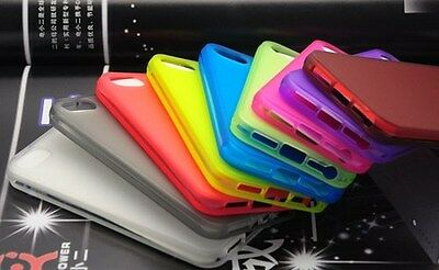 New Grip TPU Series Frost Case Cover For Apple iPhone 5 5s Screen Protector