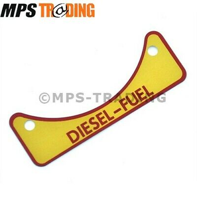 Land Rover Defender Diesel Fuel Caution Decal - 502951