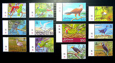 SOLOMON ISLANDS Birds Complete Fine/Used NEW LOWER PRICE BN1394
