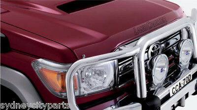 Toyota Landcruiser 70 Series Headlamp Covers From Jan 2007 - Current New Genuine