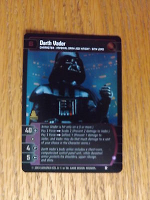 J FOIL Darth Vader Star Wars TCG Promo #32 NM//Mint