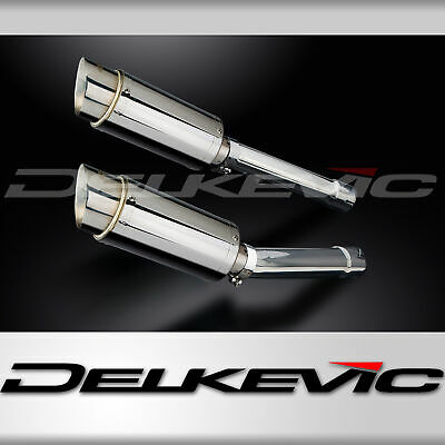 HONDA CB1100SF X-11 X11 99 00 01 02 MINI 200mm ROUND STAINLESS EXHAUST SILENCER