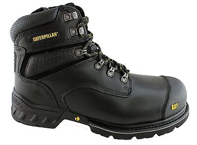 Caterpillar Cat Brakeman Mens Steel Toe Work/safety Boots/shoes Durable! On Sale