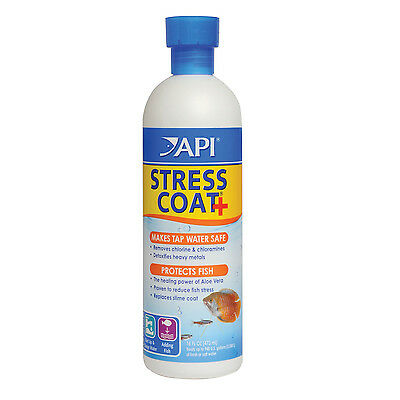 Api Stress Coat Water Conditioner Marine Tropical 473 Ml