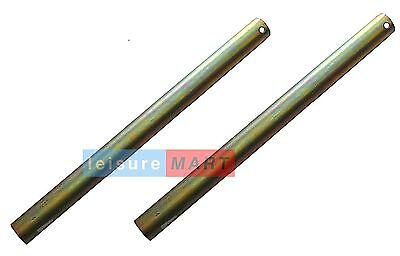 Trailer Boat Bracket Stems 34mm Diameter by 440mm Length Pair LMX1609