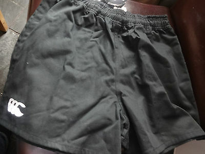 "Canterbury New Zealand navy / black rugby shorts. 24/26/28/30/32"". New"