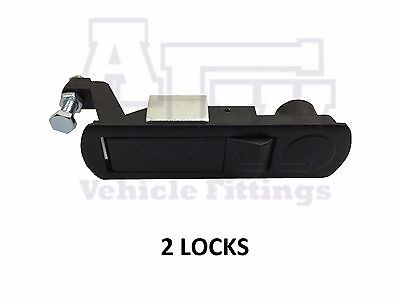 2 Compression Latch / Lever Lock for Horsebox, Trailers, Locker Doors, Tack Box