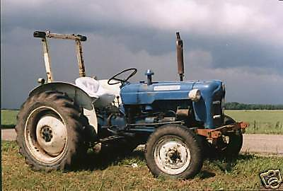 Fordson Dexta Tractor Workshop Manual on CD Rom