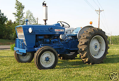 Ford 3000 Tractor Parts Manual CD Rom