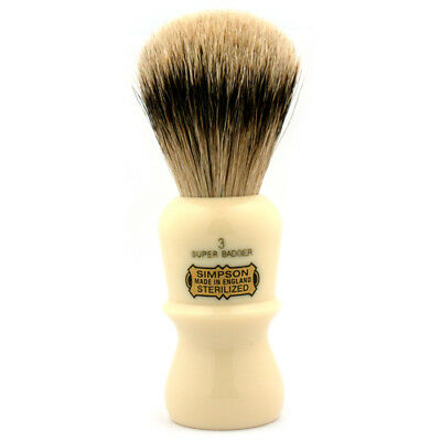 Simpsons Emperor E3 Super Badger Shaving Brush