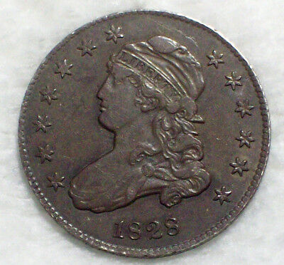1828 Liberty Cap Bust Quarter DOLLAR SILVER Amazing XF+ Detail *PRICED TO SELL*