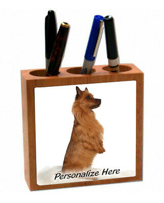 Australian Terrier  (  2 )   Personalized  Pencil and Pen Holder