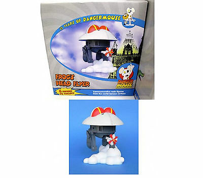 Dangermouse Frog's Head Flyer Figure 25 Years Of Danger Mouse Brand New