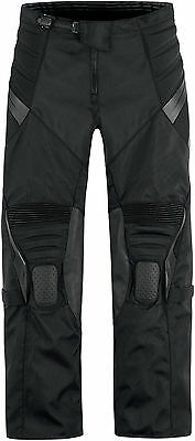 Icon Overlord Resistance Textile Motorcycle Riding Pants Black ALL SIZES