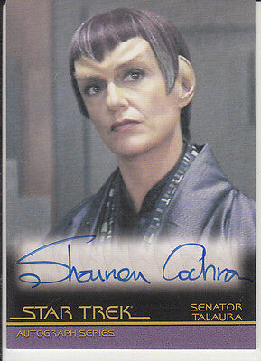 Star Trek Quotable Movies  A82 Shannon Cochran autograph